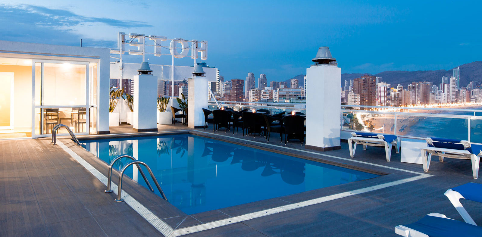 hotel en el centro: